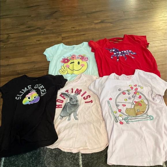 Girls 14/16 short sleeve shirt bundle